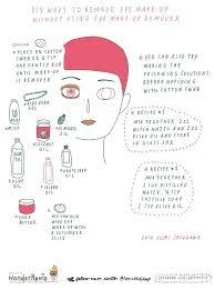 diy eye makeup remover 11 natural subsutes you probably already have at home natural organic