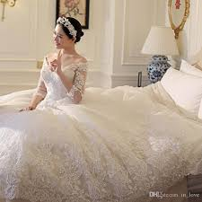 ball gown wedding dresses 2017 v neck modern princess bridal 3 4