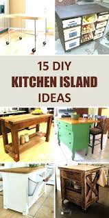 making a kitchen island diy from wall cabinets