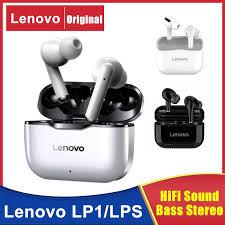 <b>Lenovo</b> LP1/<b>LP1S</b> TWS <b>Wireless Bluetooth</b> 5.0 Earphones Earbuds ...