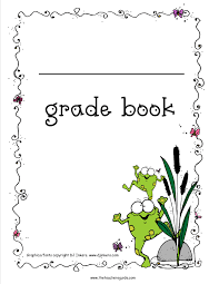 Free Printable Grade Books