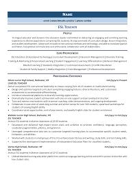 Download sample resume templates in pdf, word formats. Esl Teacher Resume Example Guide 2021 Zipjob
