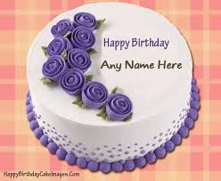 Birthday Wallpaper With Name Edit Happy Birthday Cake With Name