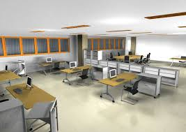 Wondrous Modern Home Office Design Layout Open Office Space Design
