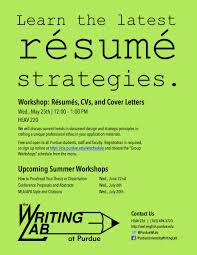 Purdue Writing Lab On Twitter Tips On Resume Writing Design This