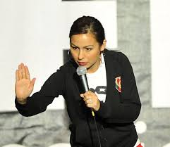 anjelah johnson does nails bon qui qui nails jokes for gilda s laughfest aunce in grand rapids video mlive
