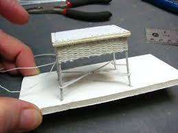 how to make miniature furniture. dollhouse miniature furniture tutorials 1 inch minis how to make n