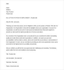 Letter Of Employment Sample Template Simple 28 Letter Of Employment Templates DOC PDF Free Premium Templates