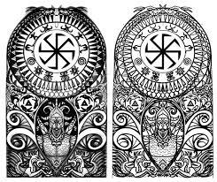 Vikingské Symboly Tetování