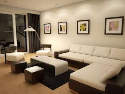 Living Room Color Schemes Beige Couch Apartment Outstanding Neutral Interior For Apartment With White