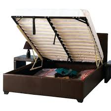 Storage Full Beds Queen Bed Frames With Storage Queen Size Bed With ...