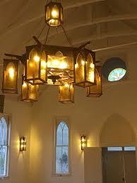 Custom Lighting For A Church Turned Community Center elkriverart