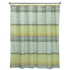chocolate coral and gold shower curtain. bacova rhythm shower curtain in yellow/grey chocolate coral and gold