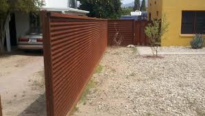 corrugated metal fence. Corrugated Metal Fence Cost Steel And Gates Affordable Construction Roof L