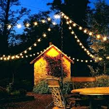 patio string lighting light pole backyard lights for outdoor cool porch