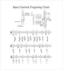 Bass Flute Finger Chart Sample Clarinet Fingering Chart 15 Free Documents In Pdf