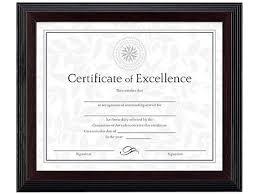 white certificate frame dax n19880bt solid wood award certificate frame