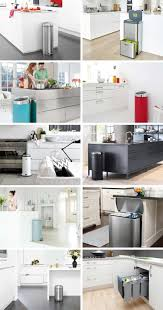 Decorative Kitchen Trash Cans Kitchen Trash Cans And Recycling Bins What To Look For