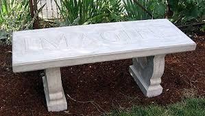 concrete garden bench. Concrete Benches Garden Bench U