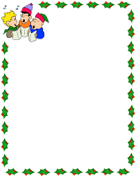 christmas carolers border page frames pageframesholiday christmaschristmascarolersborderpnghtml holiday clipart boarder