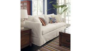 crate and barrel home office. Engaging Crate And Barrel Lounge Sofa Slipcover A Interior Designs Small Room Home Office Gallery