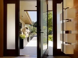 wood pivot front door ideas freshome com