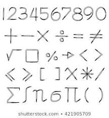 Math Symbols Meanings More Than Symbol Math Math Greater Than Or Equal To Symbol
