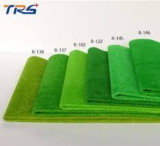 2017 R 138 50x50cm Yellow Green Color Artificial Grass Mat For