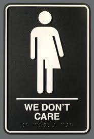 school bathroom sign. Perfect Bathroom Gender Neutral Bathroom Signs This New Theatre Has The Best  Sign A   And School Bathroom Sign