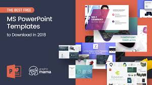 Powerpoint Backgrounds Free The Best Free Powerpoint Templates To Download In 2018 Graphicmama