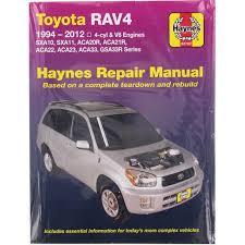 Haynes Service & Repair Manual - Toyota Rav4 1997-2006 - HAYNES ...