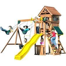 backyard fort building kit medium image for kids swing set cedar wood play outdoor decorating cakes building outdoor fort kit