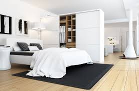 white bedroom designs. Contemporary White Luxurious White Bedroom Design Black Accent Adorable On Designs