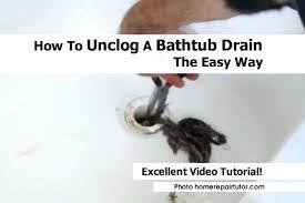 bathroom drain clogged. Bathtubs Bathroom Sink Clogged Black Stuff Bathtub Drain Cleaner Homemade  Standing Water St