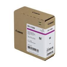 <b>Canon PFI</b>-<b>110M Magenta</b> Ink Cartridge <b>160ml</b> - Genuine <b>Canon</b> ...