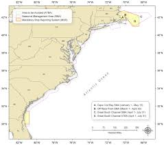 46 Cfr Part 7 Chart The Right Whale Mandatory Ship Reporting System A