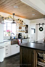Kitchen Ceiling 17 Best Ideas About Shiplap Ceiling On Pinterest Farmhouse