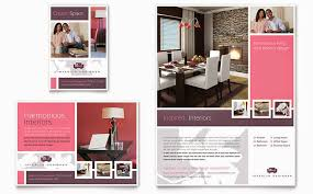 Interior Design Brochure Template New Interior Design Brochure Template Top Furniture And Templ On