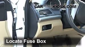 interior fuse box location honda accord honda interior fuse box location 2008 2012 honda accord 2010 honda accord ex 2 4l 4 cyl coupe 2 door
