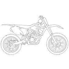 Dessin En Couleurs Imprimer Vehicules Moto Numero Le Dessin Quad