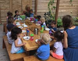 preschool lunch table. It\u0027s Lunch Time At The Scandinavian School In New Jersey, But Instead Of Baloney Sandwiches And Bags Chips Or Cookies, Children Are Sitting Down Preschool Table L