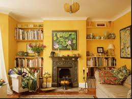 Yellow Living Room Chair Decorating Walls In Small Living Room Interior Design Ideas For