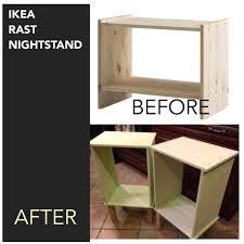 Ikea Hack Nightstand Ikea Rast Nightstand Hack Ikeahack Diy I Stained The Bare Wood