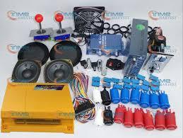 <b>Arcade parts Bundles kit</b> With 645 in 1 Pandora Box 4 Joystick ...