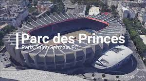 Paris Saint-Germain FC home stadium Parc des Princes - YouTube