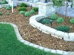 home depot garden bricks edging bricks bricks edging for landscaping round stone garden edging garden edging