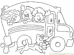 Small Picture School Coloring Pages