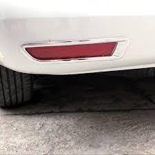 <b>Car Styling 2PCS ABS</b> Chrome Rear Fog Light Fog Lamp Cover ...