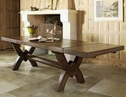 dining table rustic design. dining room furniture solid table wood rustic style design o