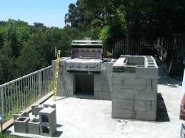 cinder block outdoor fireplace outdoor kitchen construction using cinder block concrete block outdoor fireplace plans